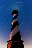 Cape Hatteras Lighthouse & Star Trails