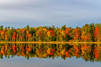 Fall Reflections on the Lake