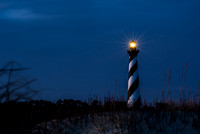 Cape Hatteras Lighthouse at Twighlight